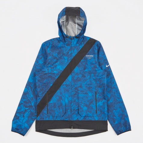 M Jacket Leaf Camo - Coastal Blue