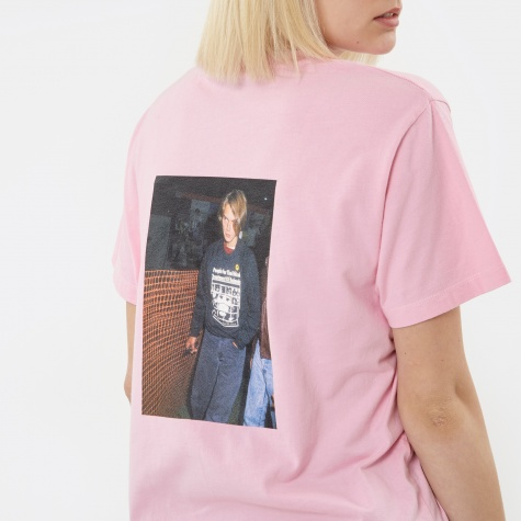 Haircut River S/S T-Shirt - Pink