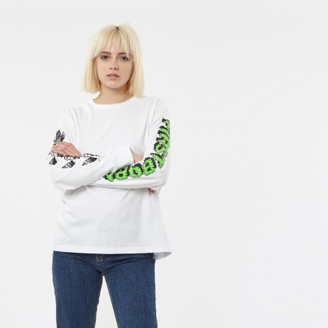 First Born Neon L/S T-Shirt - White