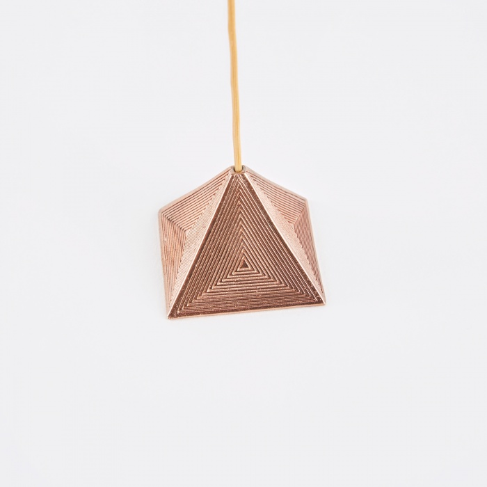 M A A P S Pyramid Incense Holder - Rose (Image 1)