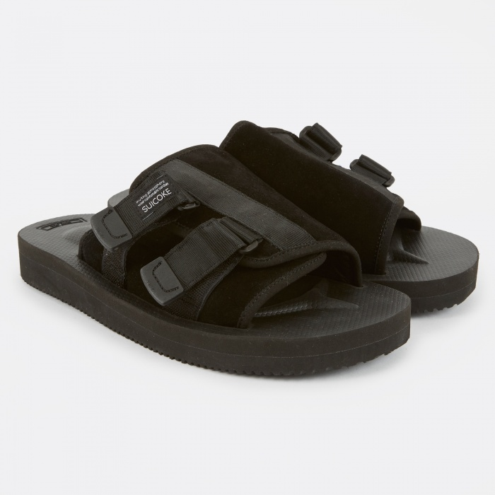 Suicoke Kaw-VS - Black (Image 1)