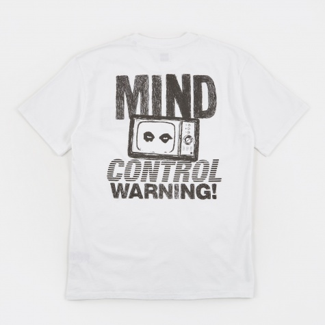 Mind Control Warning T-Shirt - White