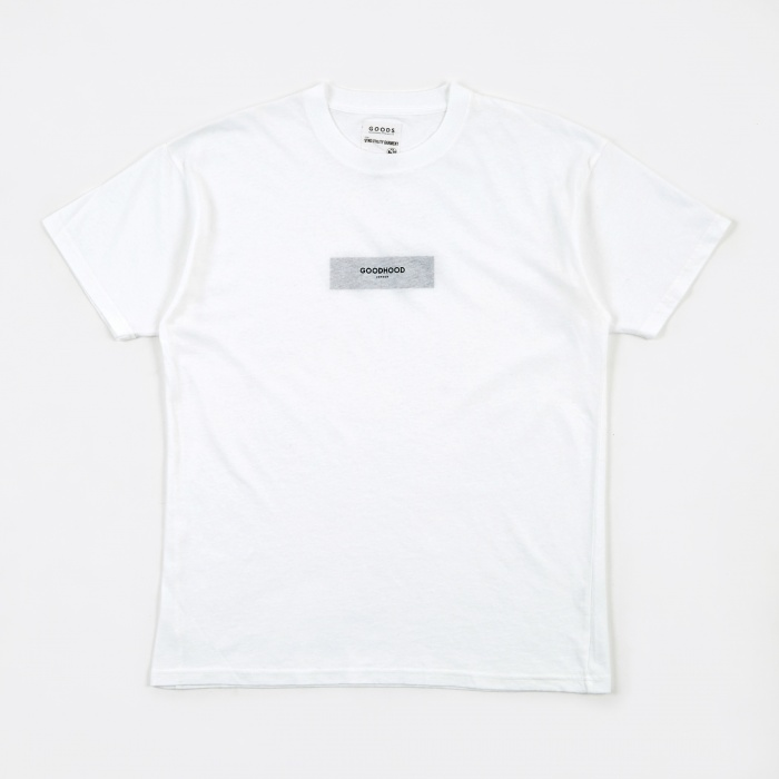 Goods By Goodhood Censored T-Shirt - White (Image 1)