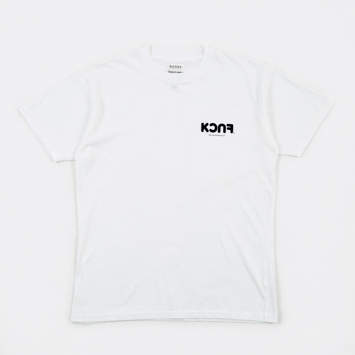 Goods By Goodhood KCUF T-Shirt - White (Image 1)
