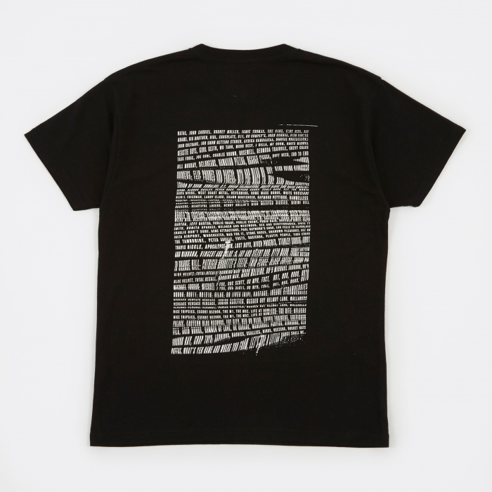Goods By Goodhood Manifest 2.0 T-Shirt - Black (Image 1)