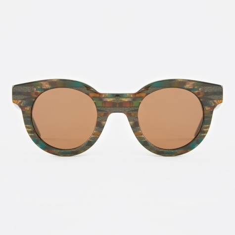 Edie Sunglasses - Herringbone Tiger
