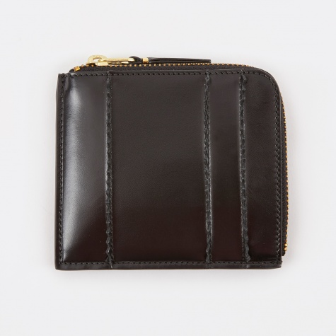 Comme Des Garcons Wallet Raised Spike S (SA3100RS) - Black