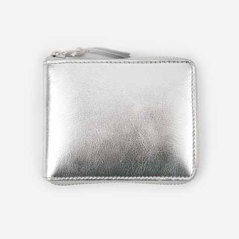 Comme des Garcons Wallet Classic Leather XS (SA7100G) - Silver