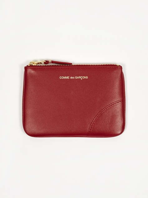Comme Des Garcons Wallet Classic Leather (SA8100) - Red