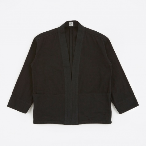 Sashiko Hanten Jacket - Black