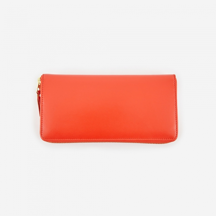 Comme des Garcons Wallets Classic Leather L - (SA0110) - Orange (Image 1)