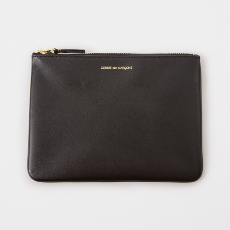 Comme Des Garcons Wallet Classic Leather W (SA5100) - Black