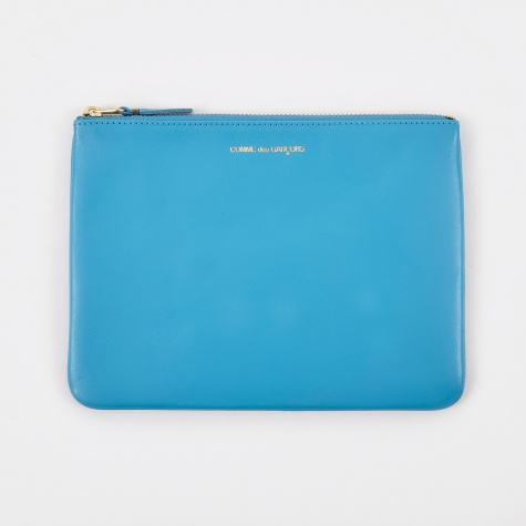 Comme Des Garcons Wallet Classic Leather W (SA5100) - Blue