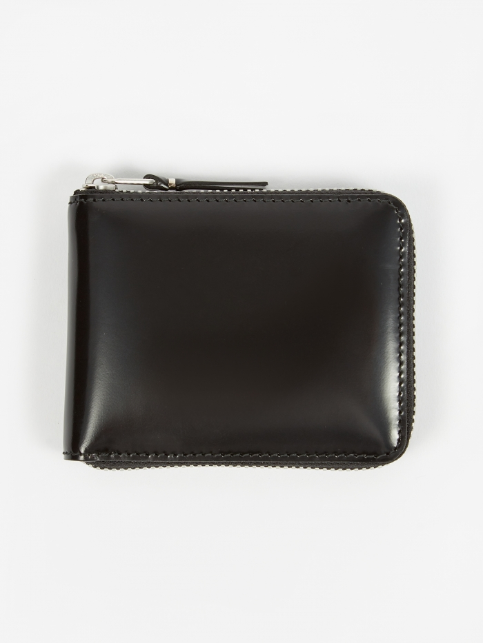 Comme des Garcons Wallets Mirror Inside XS (SA7100MI) - Black/Si (Image 1)