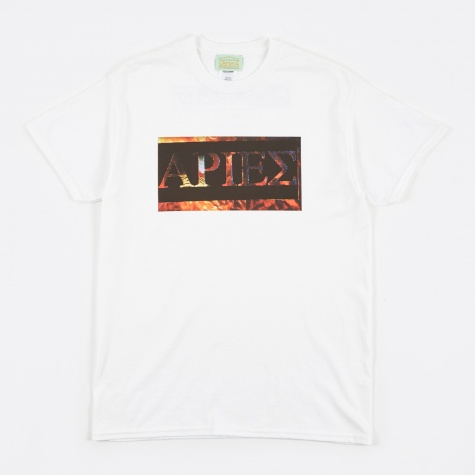 Mens Apiez Tee - White