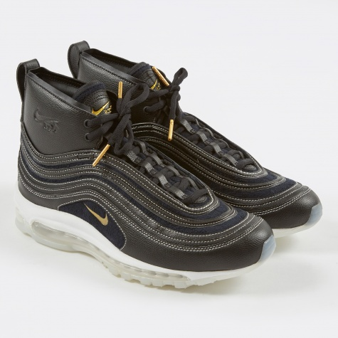 Air Max '97 Mid RT Shoe - Black/Metallic Gold-Anthracite-W