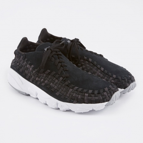 Air Footscape Woven NM - Black/Dark Grey