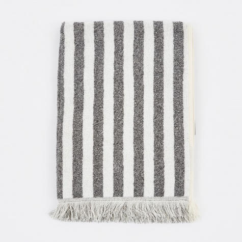 Fence Hand Towel - Grey