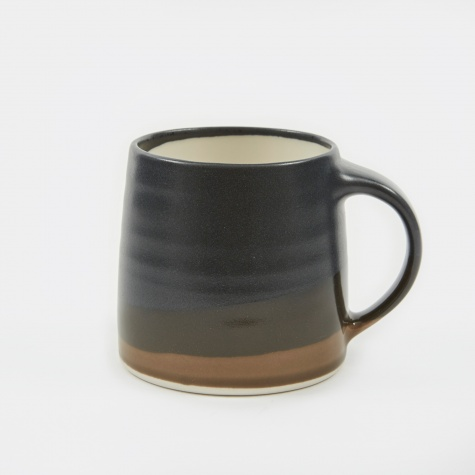 SCS Mug 320ml - Black x Brown