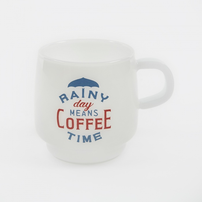 Kinto SCS Sign Paint Mug 340ml - Rainy (Image 1)