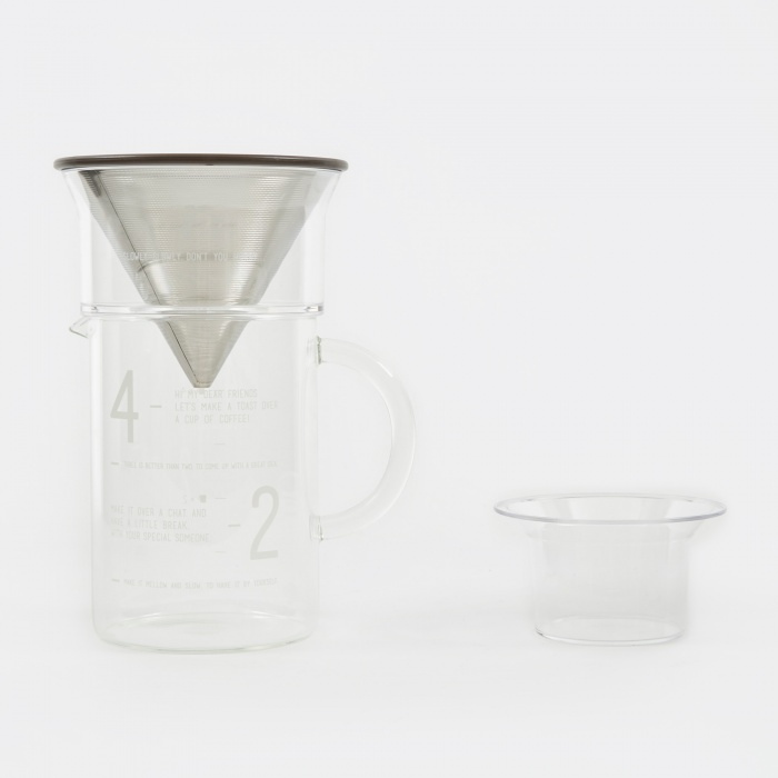 Kinto SCS Coffee Jug Set - 600ml (Image 1)