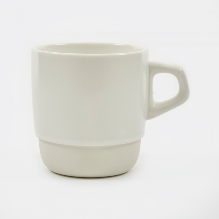 Kinto SCS Stacking Mug 320ml - White (Image 1)