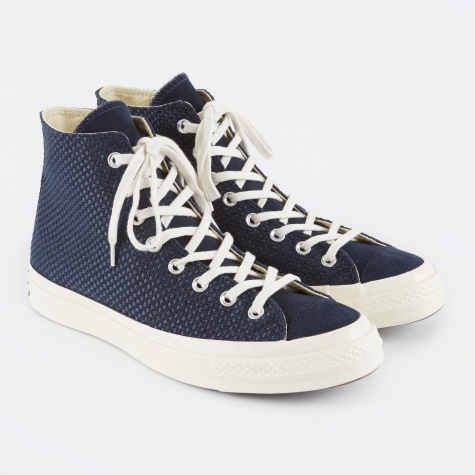 1970s Chuck Taylor All Star Hi - Obsidian