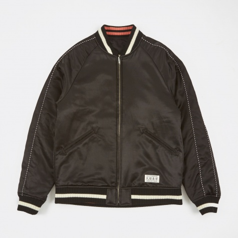 Souvenir Reversible Jacket (Type-3) - Black/Black