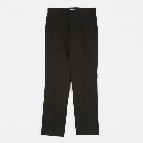 Twill Skate Trousers (Type-1) - Black
