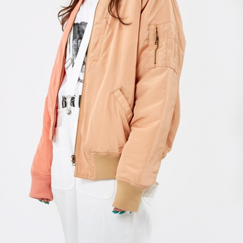 PAM Perks & Mini Strange Fruit Bomber Jacket - Peaches