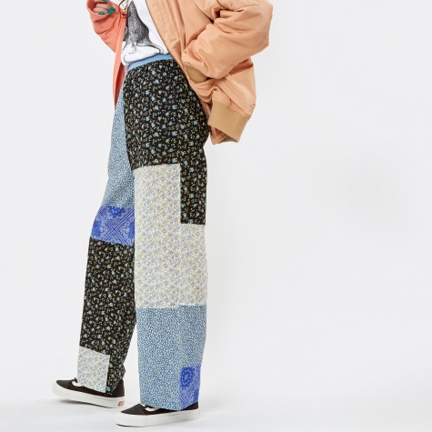 PAM Perks & Mini Collective Patch Trousers - Blue Mix
