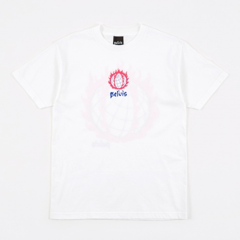 Global Meltdown Tee - White