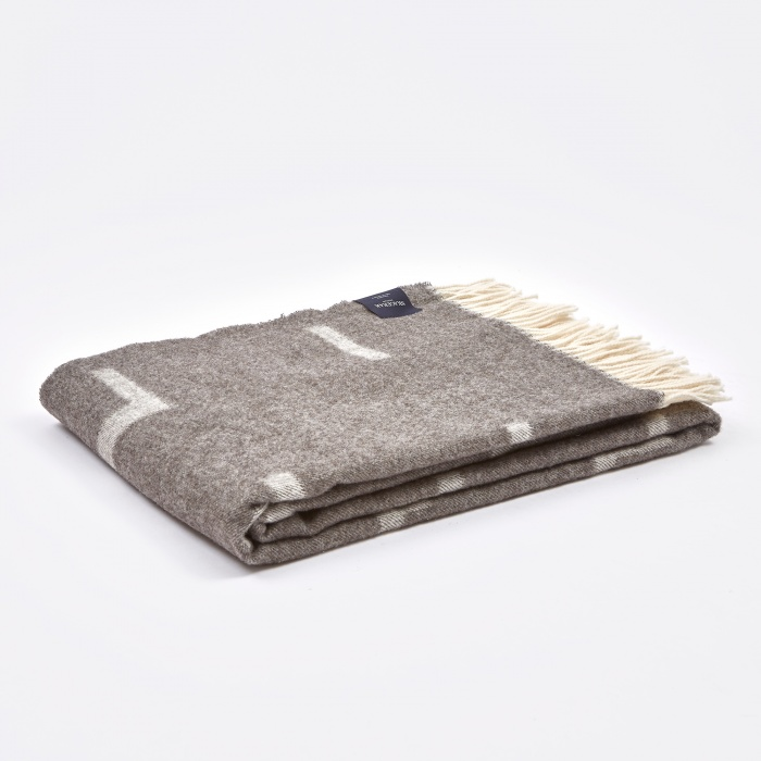 Skagerak Iota Blanket - Light Brown (Image 1)