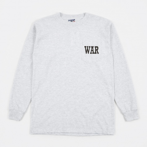 War LS T-Shirt - Grey