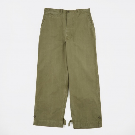 111 Trousers - Green