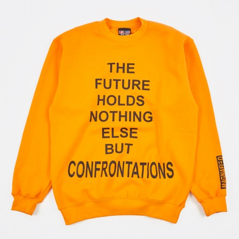 The Future Sweatshirt - Orange