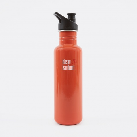Classic Sport Cap 800ml - Flame Orange