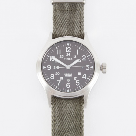 Archive Scout Brook Watch - Steel/Black
