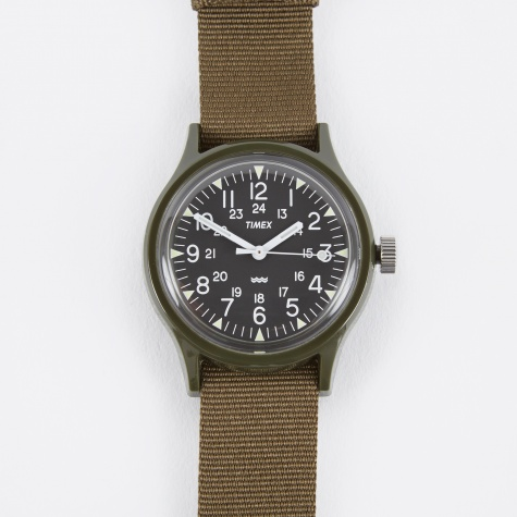 Archive Camper MK1 Watch - Green/Black