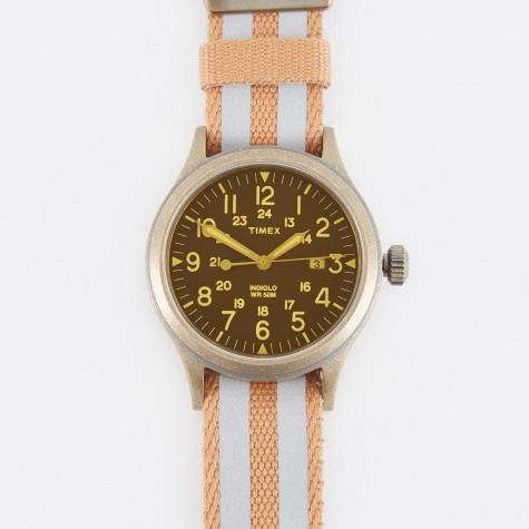 Archive Scout Watch - Bead Blasted Antique Bronze/Black