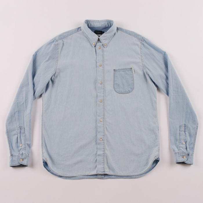Paul Smith Light Chambray Shirt (Image 1)