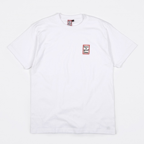 Mini Frame Tee - White