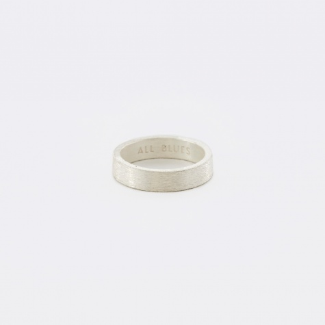 Rectangle Ring - Brushed Silver