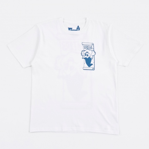 Castle Gasius x BEAMS T Wizzy Cat T-Shirt - White
