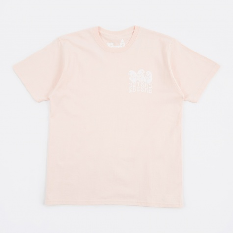 Castle Gasius x BEAMS T Castle Logo T-Shirt - Pink
