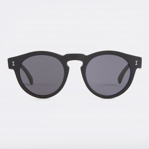 Leonard Sunglasses - Matte Black (L-44)