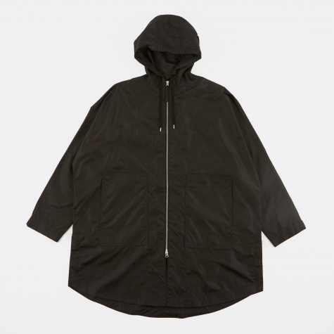 Fly Parka Jacket - Black Groove Nylon