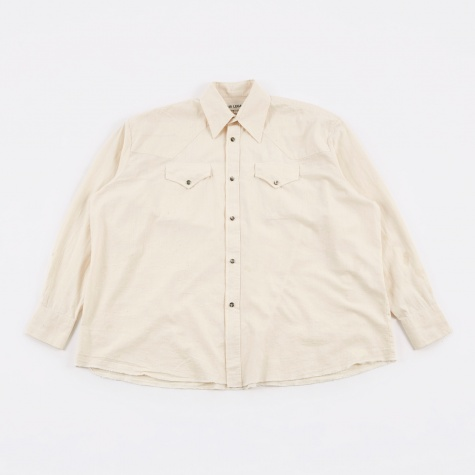 Ranch Shirt - White Chambray