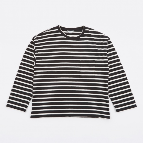 Striped Top - Black/White