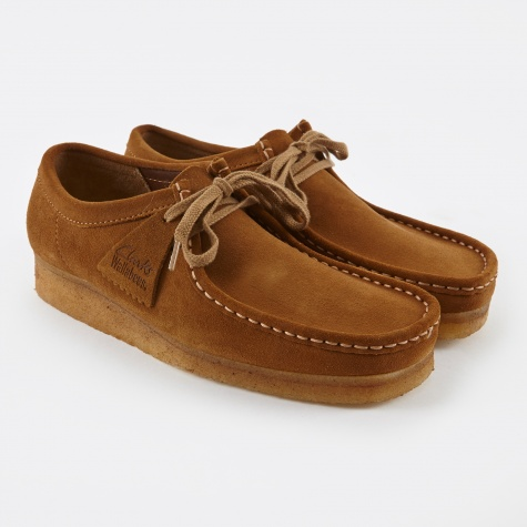 Clarks Wallabee - Cola Suede